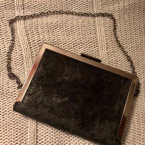 NWOT Kate Landry Minaudiere Clutch Bag